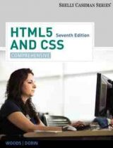 HTML5 and CSS Comprehensive, 7th edition