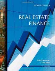 Real Estate Finance, 9th Edition