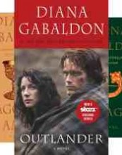 Outlander series #1-8 by Diana Gabaldon