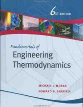 Fundamentals of Engineering Thermodynamics – 5th – 8th Edition