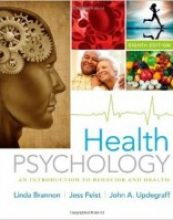 Health Psychology: An Introduction to Behavior and Health, 8 edition