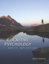 Cognitive Psychology and Its Implications, 8th edition