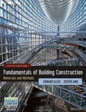 Fundamentals of Building Construction: Materials and Methods, 6th Edition