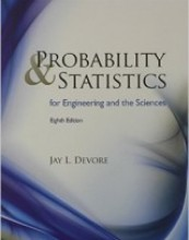 Probability and Statistics for Engineering and the Sciences (8th edition)