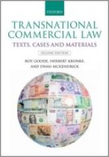 Transnational Commercial Law Text Cases and Materials
