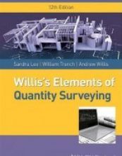 Williss Elements of Quantity Surveying, 12 edition
