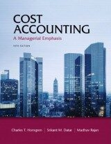 Cost Accounting (14th Edition)