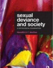 Sexual Deviance and Society: A sociological examination