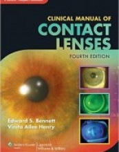 Clinical Manual of Contact Lenses, 4th edition