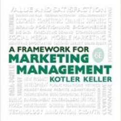 A Framework for Marketing Management, 6th Edition