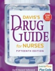 Davis's Drug Guide for Nurses – 15th Revised Edition