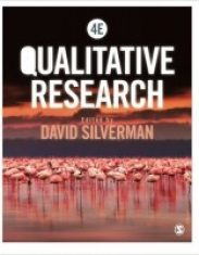 Qualitative Research 4th Edition by David Silverman