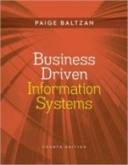 Business Driven Information Systems 4th Edition