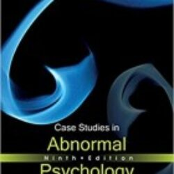 Case Studies in Abnormal Psychology 9th Edition